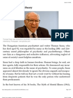 Thomas Szasz Obituary