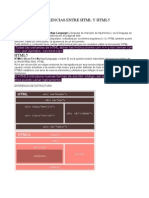 Diferencias Entre HTML y Html5