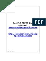 Sample Paper Gat
