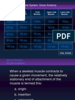Muscular Jeopardy Game