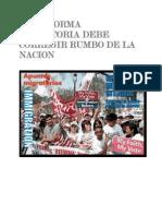 La Reforma Migratoria Debe Corregir Rumbo de La Nacion