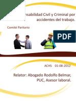 Responsabilidad Civil y Criminal Por Accidentes Del