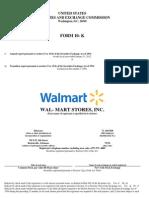 Wal Mart Stores Inc Form 10 K(Mar 27 2012)