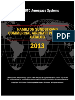 Hamilton Sundstrand Commercial Aircraft Products Catalog 2013
