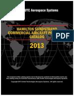Hamilton Sundstrand Commercial Aircraft Products Catalog 2013