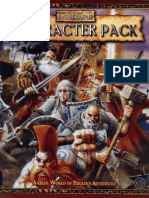 Warhammer Fantasy Roleplay 2ed - Character Pack
