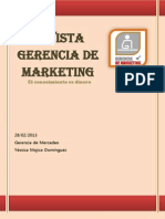 Revista Gerencia de Marketing
