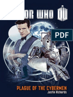 Doctor Who Plague of Cybermen by Justin Richards - Excerpt