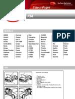 2012 - Kia Colour Pages