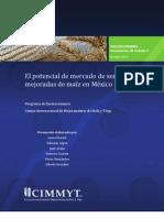 El potencial de mercado de semillas mejoradas de maiz en Mexico