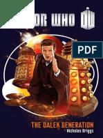 Doctor Who The Dalek Generation by Nicholas Briggs - Excerpt