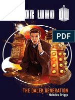 Doctor Who The Dalek Generation by Nicholas Briggs - Excerpt
