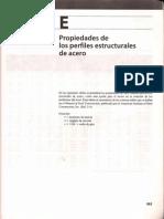 Anexo E (Prop. de Los Perfiles Estructurales de Acero)