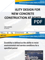 Puertos Seminario 6 Design for Durability of New Construction