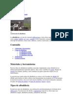 Albañilería y otros terminos
