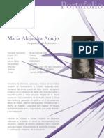 Maria Alejandra Araujo Bonilla