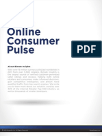 Bizrate Insights Online Consumer Pulse - Pinterest vs Facebook