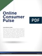 Bizrate Insights Online Consumer Pulse - Pinterest vs Facebook