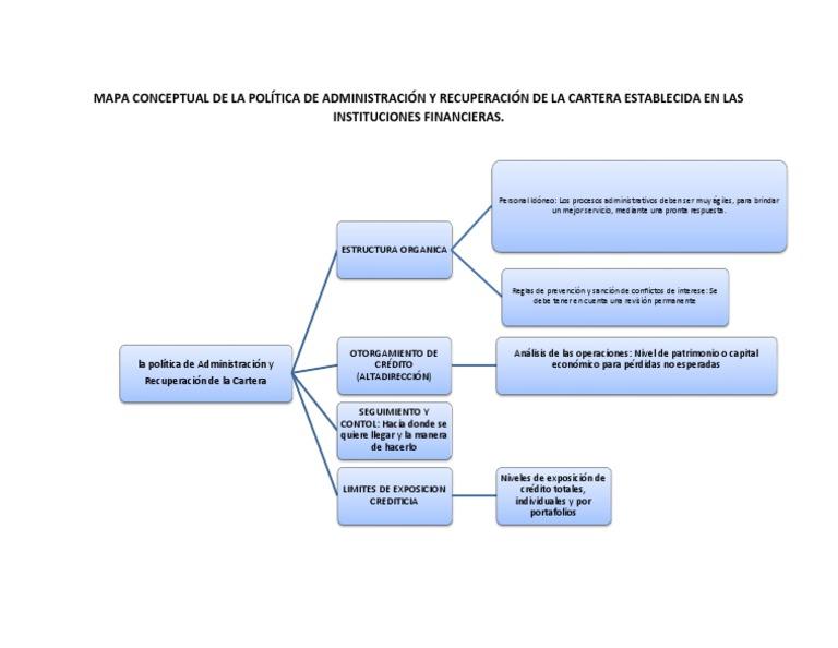 Mapa Conceptual De La Política De Administración Y