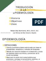 Introducción a la epidemiología
