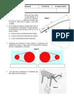 Examen Mecánica 3º B - Curso 2012-2013