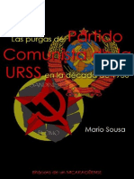 Mario Sousa; Las purgas del Partido Comunista (b) de la URSS en la década de 1930; 2005