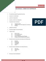Aire Acondicionado Automotriz - Cambio de Compresor