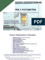 Optica - Tema 4 - Radiometria y Fotometria - 2010-11