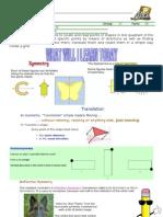 WORKSHEET TRANSFORMATIONS AND CARTESIAN PLANE