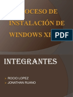 PROCESO DE INSTALACIÓN DE WINDOWS XP.pptx