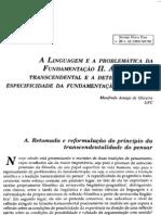 Pragmatica Transcendental