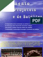 Movimento de projéteis e de satélites.pps