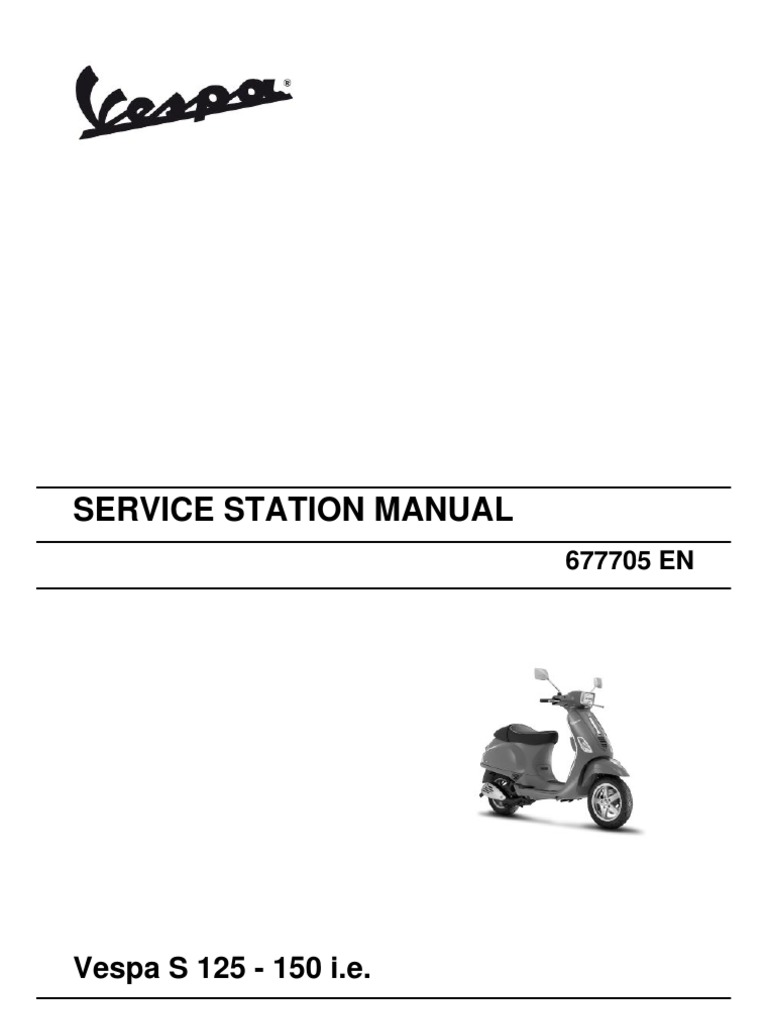 Vespa S 125 150 Ie En Motor Oil Transmission Mechanics Wiring Diagram Excel