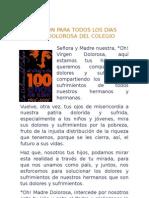 Novena a La Dolorosa 2005