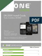 DR-2000 Install Guide5x5 V4