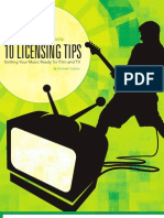 10 Licensing Tips