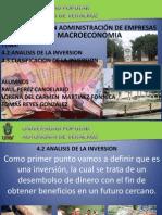 Analisis de La Inversion