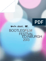 Bootleg Film Festival Edinburgh 2013