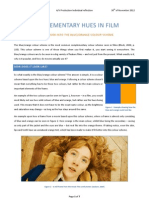 COMPLEMENTARY HUES IN FILM - A CLOSER LOOK INTO THE BLUE/ORANGE COLOUR SCHEME