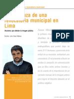 La amenaza de una revocatoria municipal en Lima.