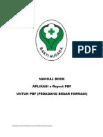 Manual Book E-Report PBF