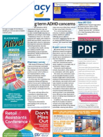 Pharmacy Daily for Tue 05 Mar 2013 - ADHD concerns, Breast cancer hope, Pharmacy Survey, Multivitamins and much more...