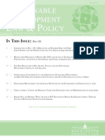 Sustainable Development and the Legal Protection of the Environment in Europe