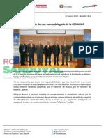 01-03-13 Boletin 1431 Hugo Villagrán Bernal, nuevo delegado de la CONAGUA