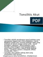 CRS Tonsilitis Akut