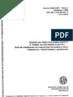 IRAM 2281-2 Puesta a Tierra Instalaciones Industriales y Dmiciliarias .pdf