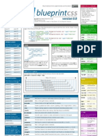 Blueprint css framework version 101 cheat sheet cascading blueprint css framework version 08 cheat sheet malvernweather