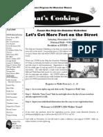 DPHW Fall 2008 Newsletter