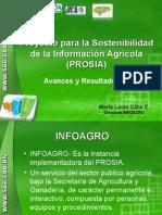 Proyecto Para La Sostenibilidad de La Información Agrícola