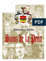 Historia de La Familia Sainz de La PeÑa